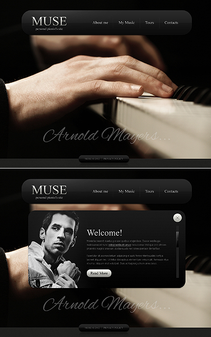 Website Template #39114