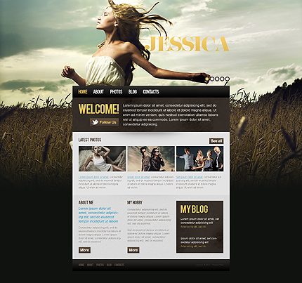 Website Template #39125