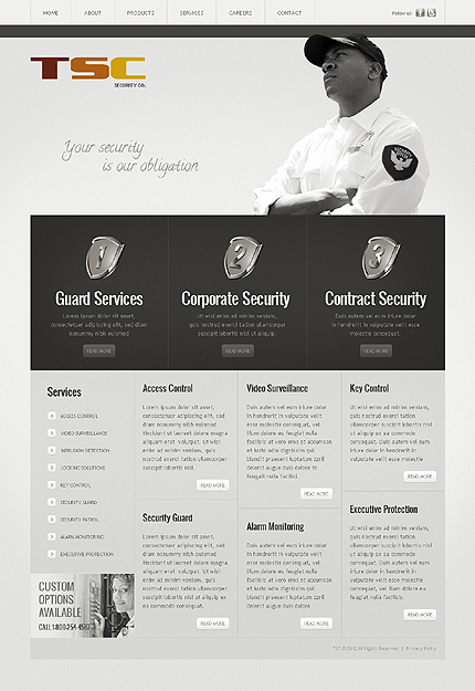 Website Template #39127