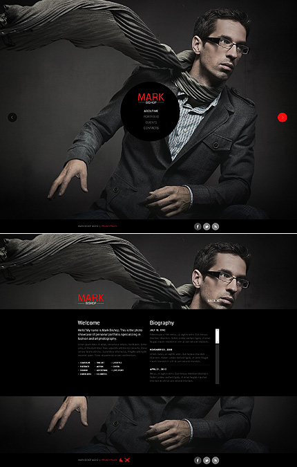 Website Template #39133
