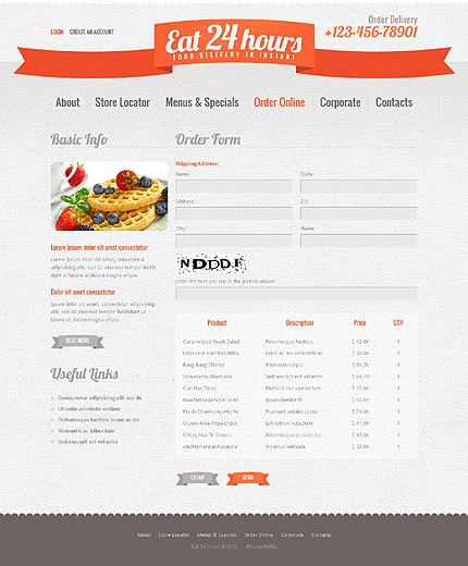 Website Template #39142