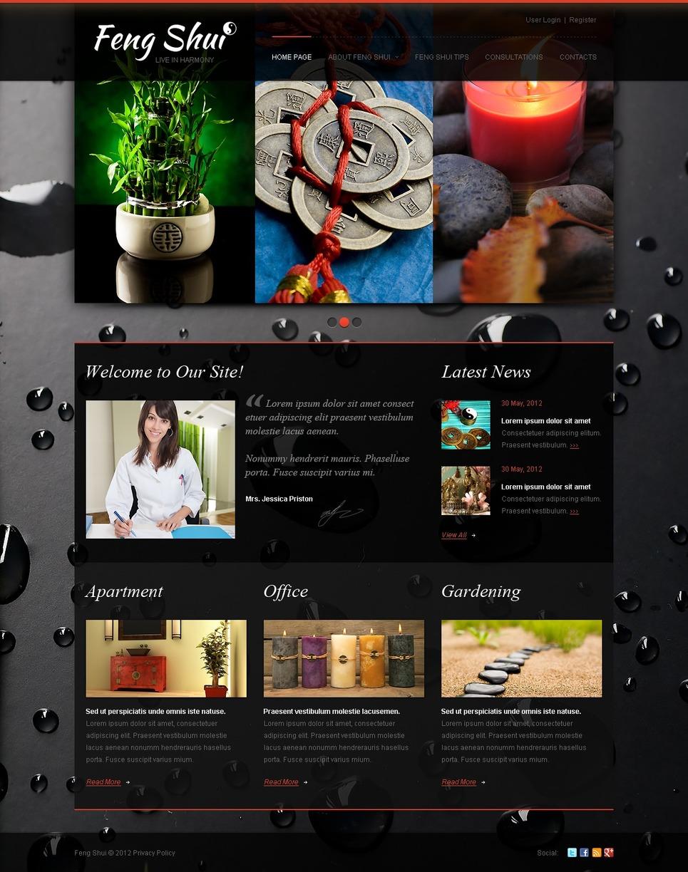 Feng Shui WordPress Theme New Screenshots BIG
