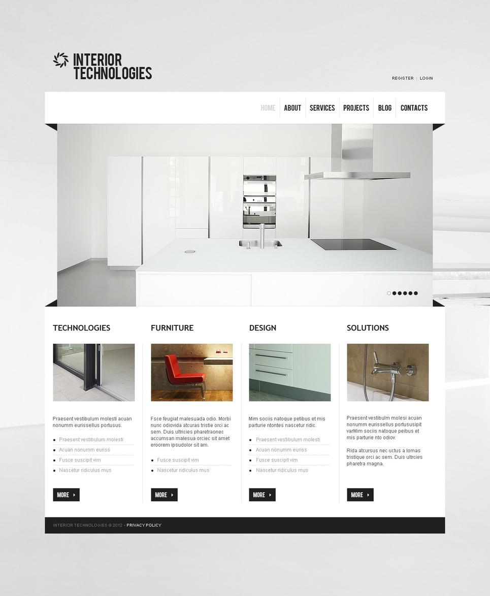 Interior & Furniture Joomla Template New Screenshots BIG
