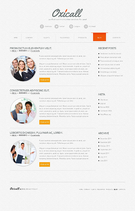 Website Template #39159