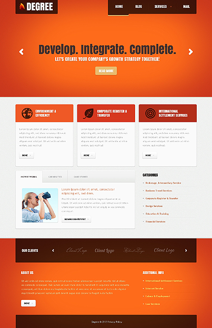 Website Template #39169