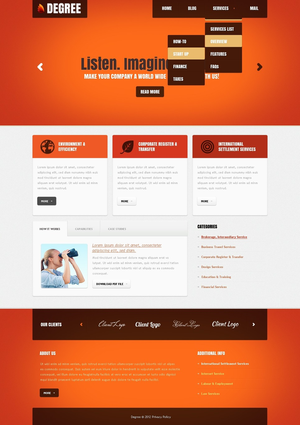 IT Joomla Template New Screenshots BIG