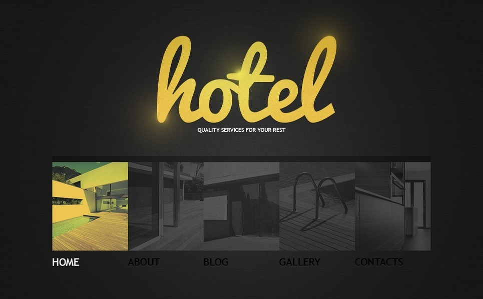 Hotels WordPress Theme New Screenshots BIG