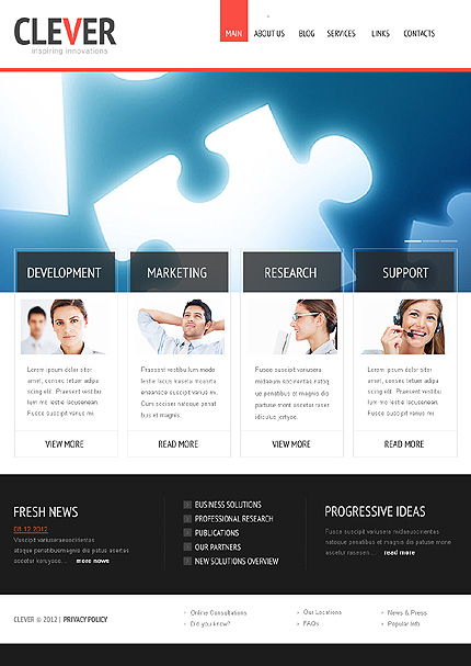 Website Template #39183