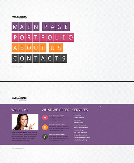 Website Template #39202
