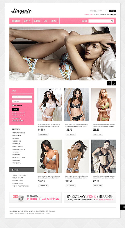 Website Template #39211