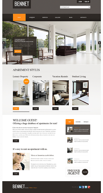 Website Template #39233