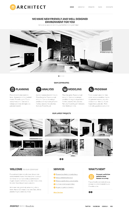 Website Template #39234