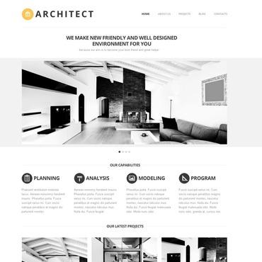 Architecture Joomla Template