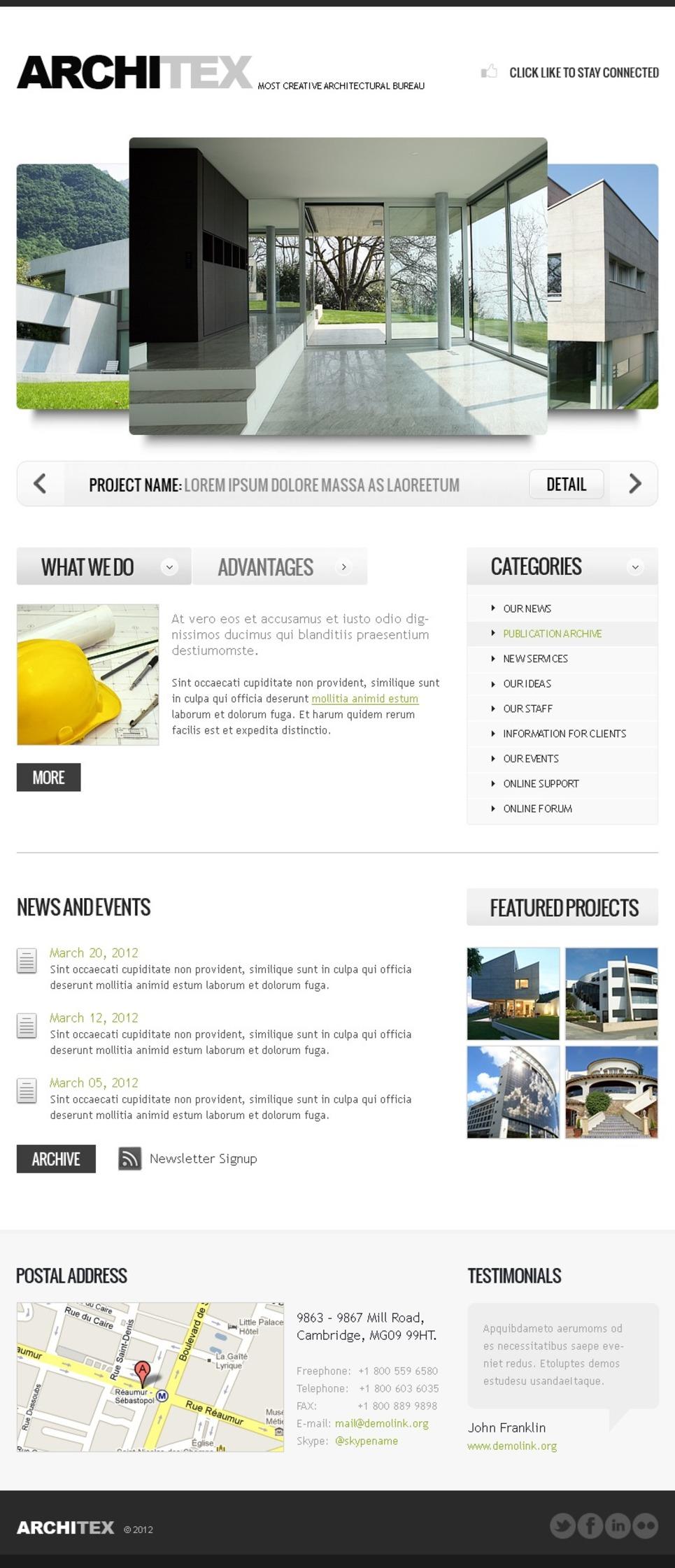 Construction Company Facebook Template New Screenshots BIG