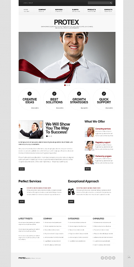 Website Template #39242