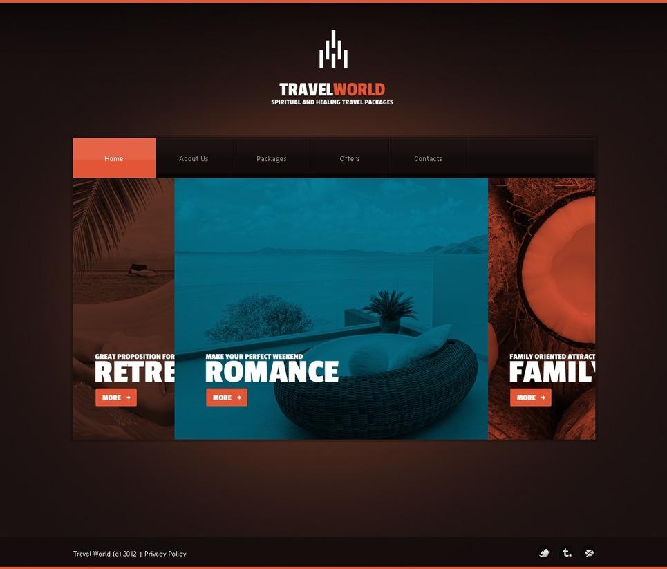 Travel Agency WordPress Theme New Screenshots BIG