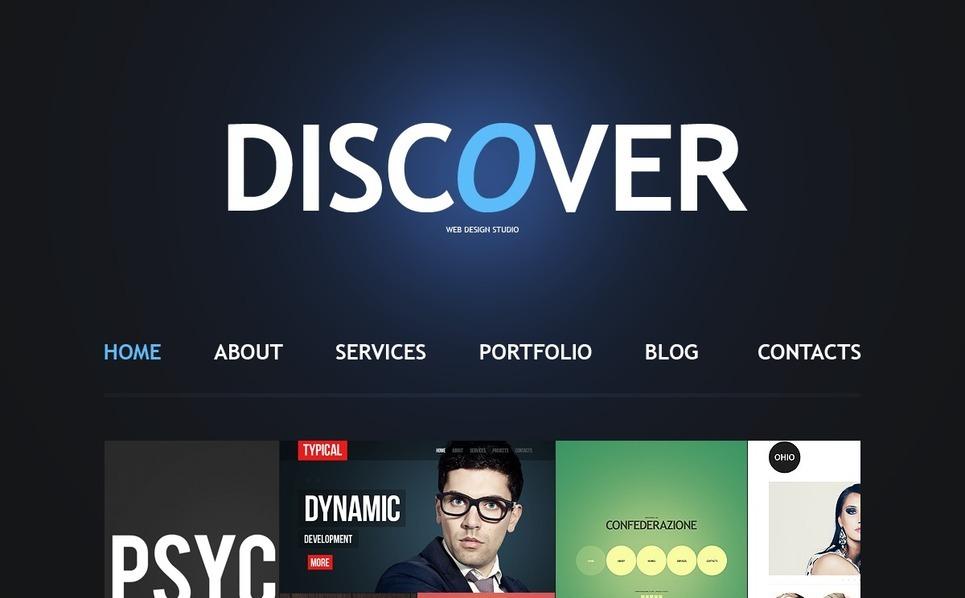 Design Studio Joomla Template New Screenshots BIG