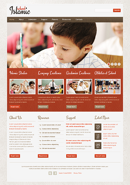 Website Template #39263
