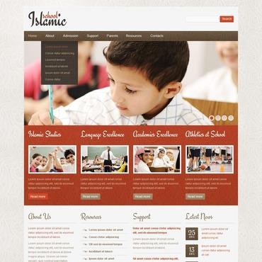 Religious School Website Template
