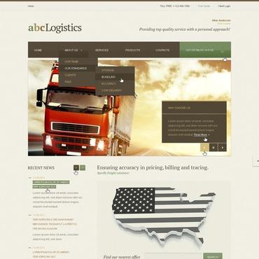 Trucking Website Template
