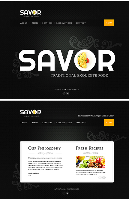 Website Template #39267