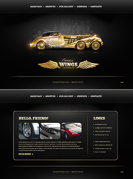 Website Template #39268