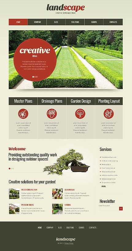 Landscape WordPress Theme