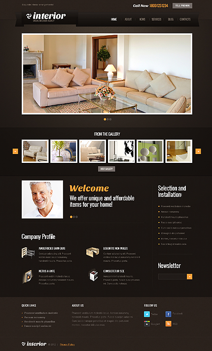Website Template #39278