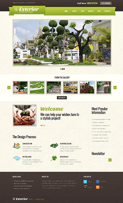 Exterior WordPress Theme