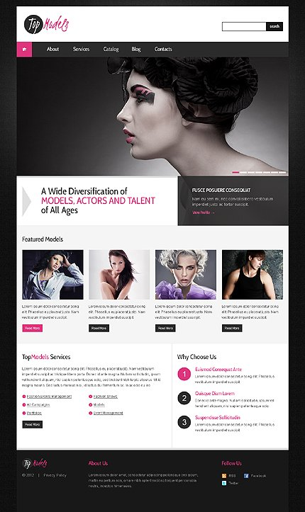 Website Template #39282