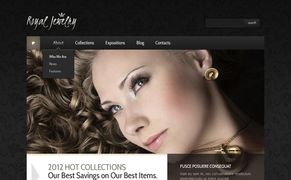 Jewelry WordPress Theme New Screenshots BIG