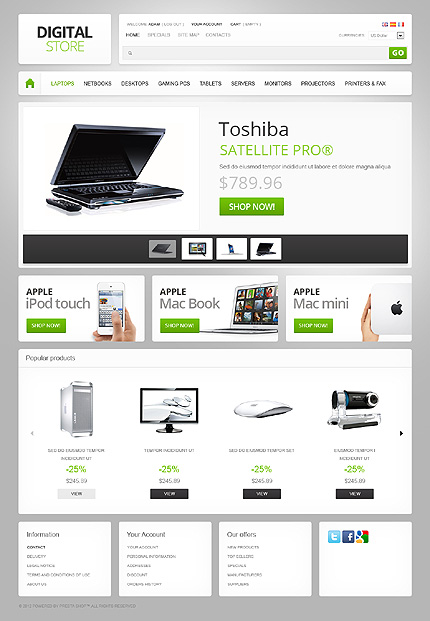 Website Template #39286