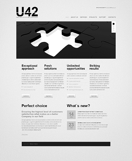 Website Template #39291