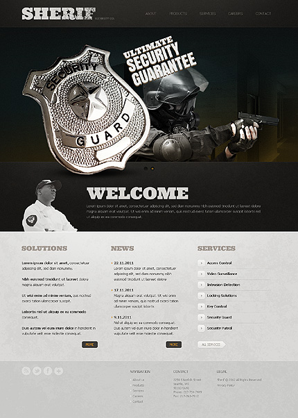 Website Template #39300