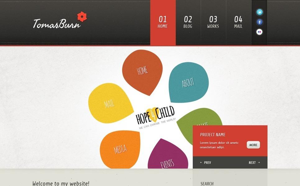 Designer Portfolio Joomla Template New Screenshots BIG