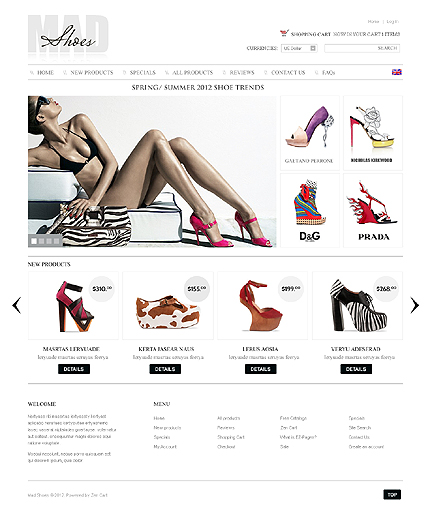 Website Template #39311