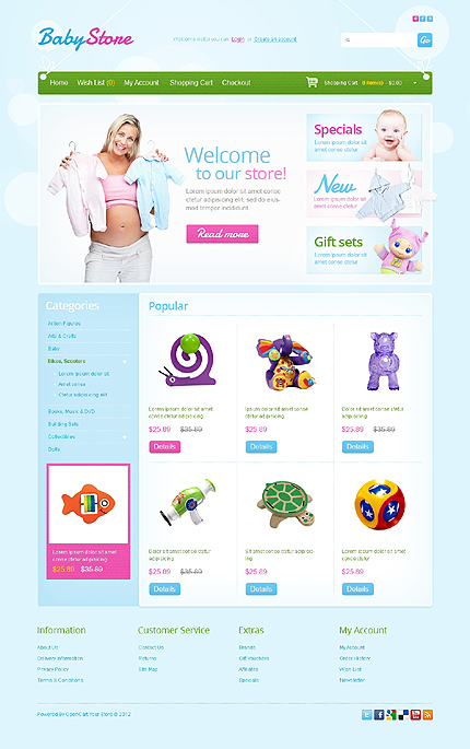 Website Template #39318