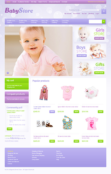 Website Template #39319