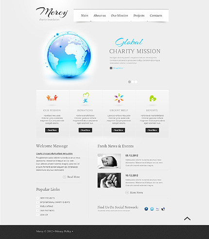 Website Template #39324
