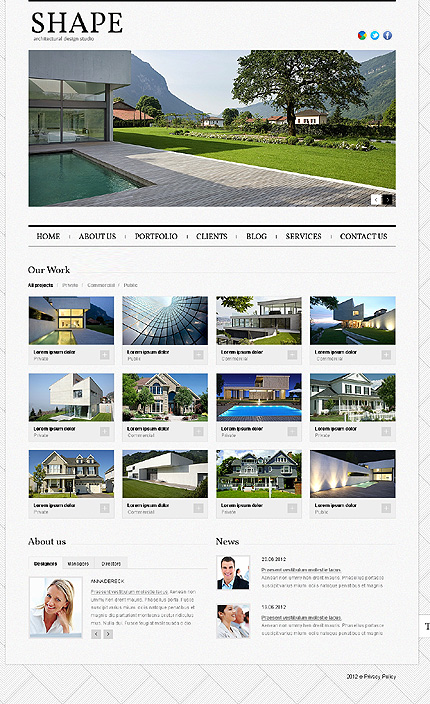 Website Template #39333