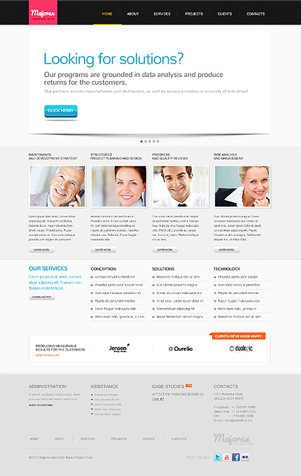 Website Template #39335