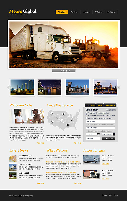 Website Template #39337