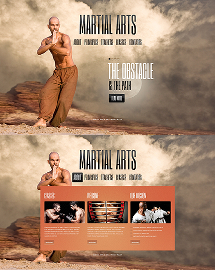 Website Template #39339