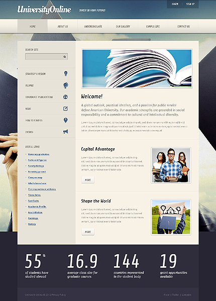 Website Template #39351