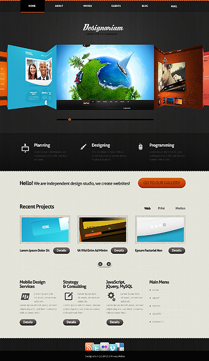 Website Template #39354
