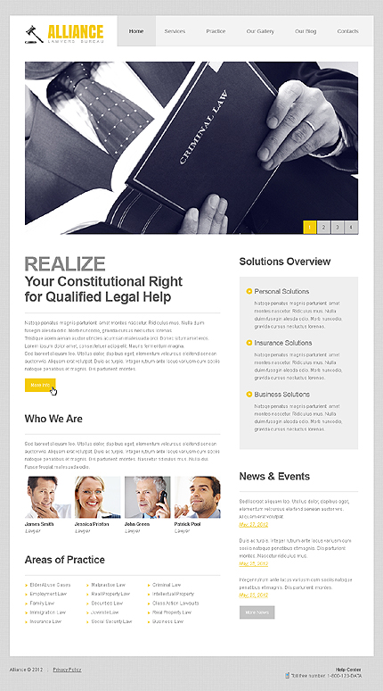 Website Template #39355