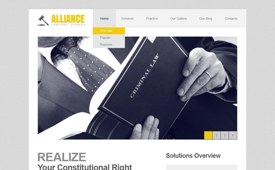 Law Firm WordPress Theme New Screenshots BIG