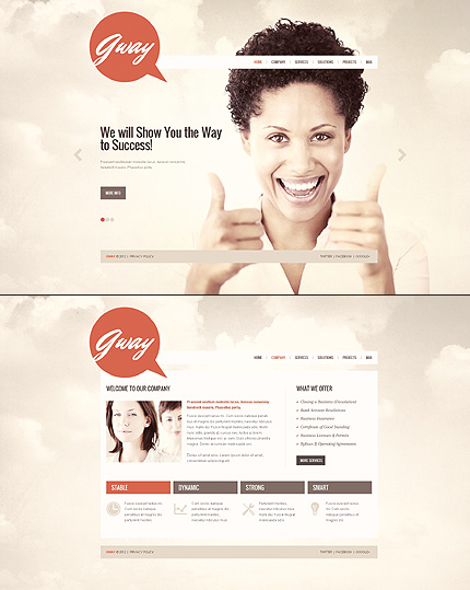 Website Template #39362