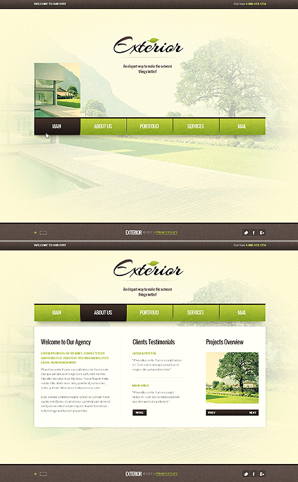 Website Template #39371