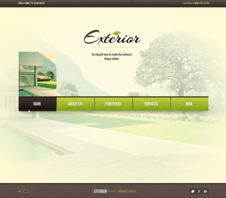 Exterior Design Flash Template New Screenshots BIG